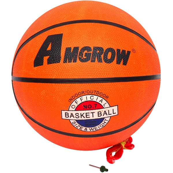 Мяч баскетбольный, кожзам