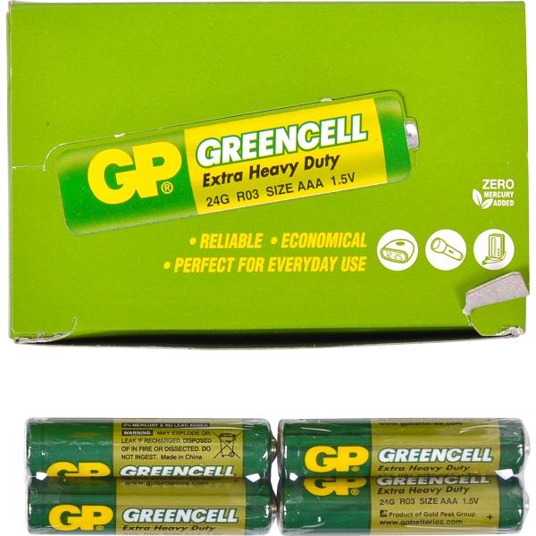 Батарейка GP 24G-S2 солевая R03, AAA