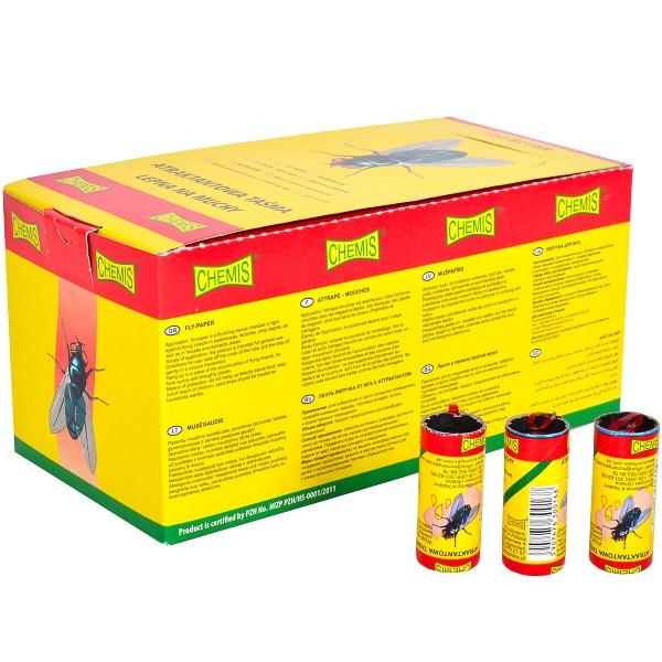 Липкая лента «Chemis» от мух (100шт)