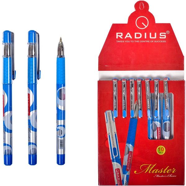 """Ручка шариковая на масляной основе """"Master"""" 0.7мм, СИНЯЯ """"Radius"""""""