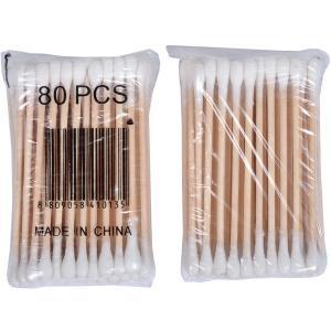 Ушные палочки бамбуковые (80шт)
