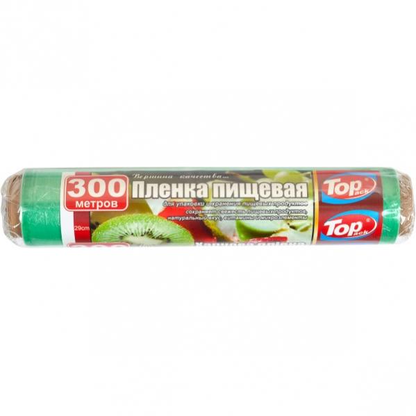 Пленка пищевая 29см/300м 7мкм(POL) Top Pack зеленая